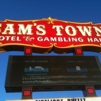 Photo taken at Sam's Town Hotel & Gambling Hall by Sergio T. on 4/4/2011