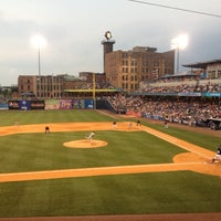 Photo taken at Fifth Third Field by Victor R. on 8/5/2012
