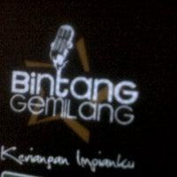 Photo taken at Bintang Gemilang Karaoke by Aiman F. on 11/12/2011