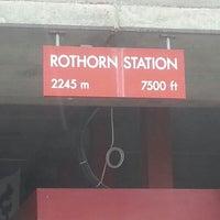 Photo taken at Brienz–Rothorn Bahn by Gaurav T. on 7/11/2012