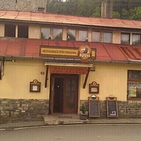 Photo taken at Restaurace Pod Hradem by Shamot W. on 8/6/2011