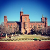 Photo taken at Smithsonian Institution Building (The Castle) by Douglas N. on 2/7/2012