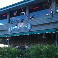Photo taken at The Pirate Republic Seafood & Grill by Dawn D. on 12/3/2011