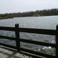 Photo taken at Hawk Island County Park by Shannon D. on 3/11/2012