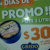 Photo taken at Grido by La Plata S. on 8/18/2012