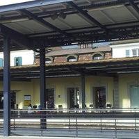 Photo taken at Gare de Delémont by Bahar T. on 8/22/2012