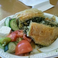 Photo taken at Oakland Gyros by Chelsea W. on 2/11/2012