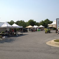 Photo taken at Howard County Farmer's Market at East Columbia Library by Amy P. on 6/28/2012