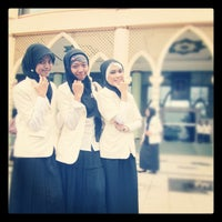 Photo taken at Masjid Ulil Albab UII by Novia V. on 7/19/2012