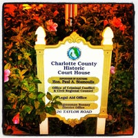 Photo taken at Charlotte County Historic Court House by Five Star Realty on 6/30/2012