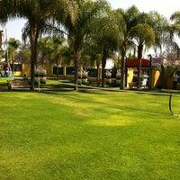 Photo taken at El parque jardin de niños (Bugambilias) by Alex U. on 4/10/2011