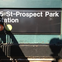Photo taken at MTA Subway - 15th St/Prospect Park (F/G) by Jose C. on 10/25/2011