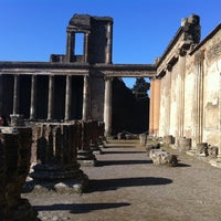 Photo taken at Area Archeologica di Pompei by Annie C. on 2/24/2012