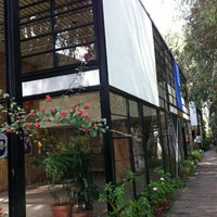 Photo taken at The Eames House (Case Study House #8) by Nico M. on 2/20/2012