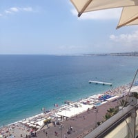 Photo taken at Rooftop Pool @ Le Méridien Nice by alexandre F. on 7/21/2012