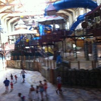 Photo taken at Cub Club at Great Wolf Lodge by Tracy R. on 7/8/2012