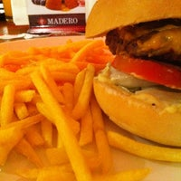 Photo taken at Madero Burger & Grill by Nicolas B. on 8/13/2012