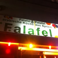 Photo taken at Falafel in Berlin by Rainer K. on 10/28/2011