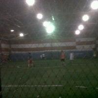 Photo taken at DNA Futsal by Zeky N. on 11/22/2011