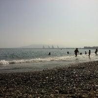 8/7/2012 tarihinde Eduar D.ziyaretçi tarafından Playa de Baños del Carmen'de çekilen fotoğraf