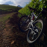 Photo taken at Lourensford Wine Estate by Dion F. on 11/19/2011