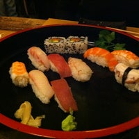 Photo taken at Sushi all'Osteria Tsuru by Victor D. on 2/17/2012