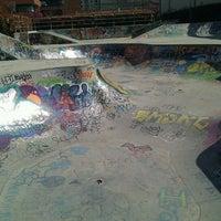 Photo taken at Skatepark - Motta by Silvia G. on 4/1/2011
