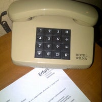 Photo taken at Hotel Wilna by Kay K. on 9/13/2011