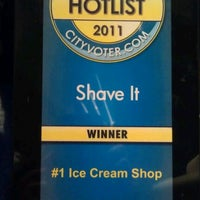 Photo taken at Shave It by Lilo C. on 9/19/2011