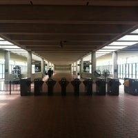 Photo taken at West Falls Church-VT/UVA Metro Station by Rhea D. on 8/6/2012
