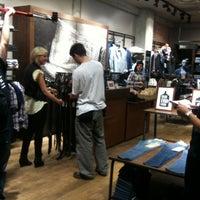Photo taken at Levi's by Iva V. on 4/12/2012