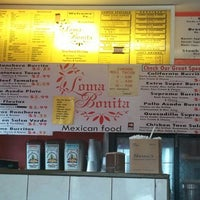 Photo taken at Loma Bonita Mexican Food by Rick G. on 4/29/2012