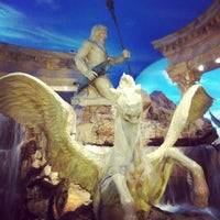 Photo taken at The Forum Shops at Caesars by John D. on 9/8/2012