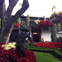 Photo taken at San Angel Inn by Mary A. on 12/11/2011