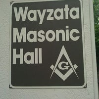 Photo taken at Wayzata Masonic Lodge #205 by Timothy J. on 8/27/2011