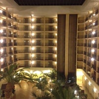 Photo taken at Sheraton Suites Tampa Airport Westshore by Suzanne M. on 11/28/2011
