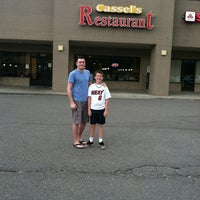 Photo taken at Cassel's Restaurant by Ron B. on 5/26/2012
