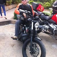 Photo taken at Bangchak Gas Station by Khunkao P. on 1/28/2012