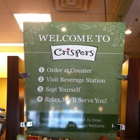 Photo taken at Crispers Fresh Salads, Soups and Sandwiches by Susana C. on 8/7/2012