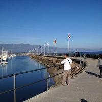 Photo taken at Santa Barbara Harbor by Matthew D. on 3/22/2012