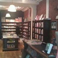 Photo taken at Bergen Street Comics by Leah G. on 1/26/2012