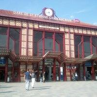 Photo taken at Gare SNCF de Saint-Étienne Châteaucreux by Damien H. on 5/31/2011
