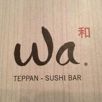 Photo taken at Wa Teppan Sushi Bar by Enrique® on 3/18/2012