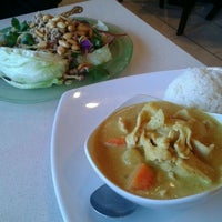 Photo taken at Thai Spice by Vy N. on 2/14/2012