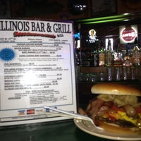 Photo taken at Illinois Bar & Grill by J. Kelly S. on 7/18/2012
