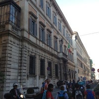 Photo taken at Palazzo Grazioli by Enrico on 8/28/2012