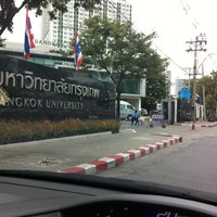 Photo taken at Bangkok University by Jureepan N. on 9/1/2012