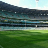 Photo taken at Melbourne Cricket Ground (MCG) by Michael S. on 3/30/2012
