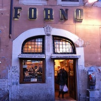 Photo taken at Forno Campo de' Fiori by Andreas C. on 3/11/2011