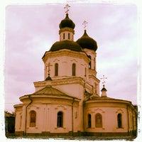 Photo taken at Знаменская церковь by Elena G. on 8/21/2012